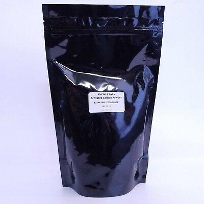 1 Lb Activated Carbon Powder | Food Grade | Decolorizing Agent | 100% Pure