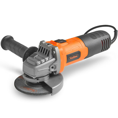 """Vonhaus 950W 125Mm 5"""" Angle Grinder With 7 Disc Accessory Kit 