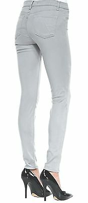 J BRAND 485 SUPER SKINNY MID RISE STRETCH JEANS in VAPOR BRAND NEW PANTS $185