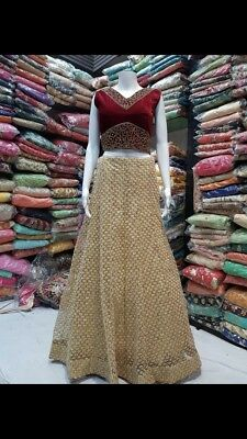 Bollywood Indian Pakistani  Designer Lehenga Choli Wedding Women Party Wear