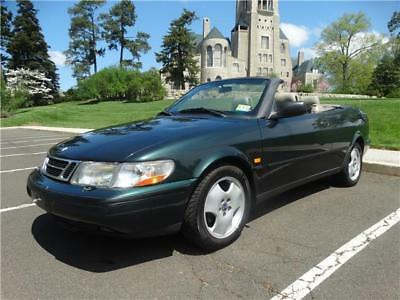 900 SE 1998 Saab 900 SE 9-3 93 CONVERTIBLE CABRIOLET LOWER MILES AUTOMATIC NO RESERVE !