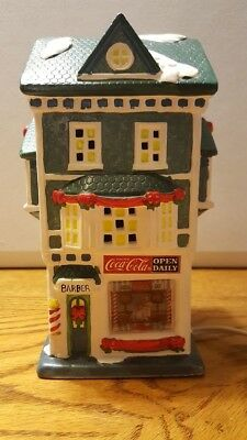 1993~House Of Lloyd~Christmas Around The World~Coca-Cola Barber Shop~Lights Up