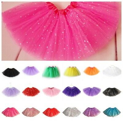 US Baby Girl Kids Tutu Skirt Princess Party Dancewear Tulle Ballet Skirt Dress