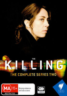 The Killing: Complete Series Two [3 Dvd Set] Second Season 2, Region 0, Sealed