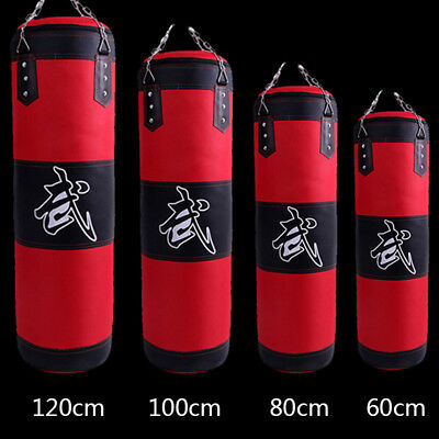 Training Boxing Hook Kick Kicking Sandbag Fight Karate Punch Punching Sand Bag #