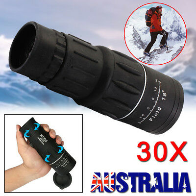 ARCHEER 30x52 HD Day & Night Vision Optical Monocular Dual Focus Zoom Telescope