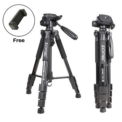 ZOMEI Q111 Aluminum Portable Travel Tripod&Pan Head Professional For DSLR Camera