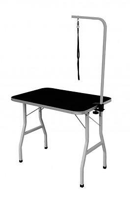 "New Quality 32"" Large Portable Adjustable Pet Dog Grooming Table w/ Arm / Noose"