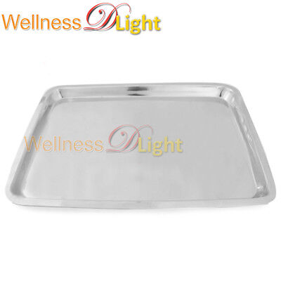 """Wdl Mayo Tray 10.75"""" X 14.50"""" X .75"""" Non Perforated Dental Surgical Instruments"""