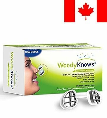 WoodyKnows Super Defense Nose / Nasal Filters (New Model) Reduce Pollen, Dust...