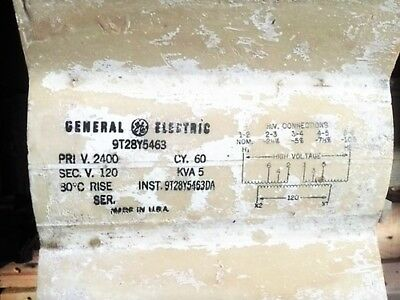 Ge 9T28Y5463 High Voltage Transformer