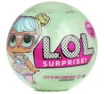 New Lol Surprise Doll Series 2- Mystery Pack 55254X1