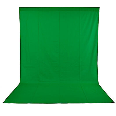 Neewer Photo Studio Pure Muslin Collapsible Backdrop Background 10x12ft Green