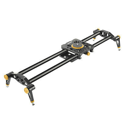 Neewer Carbon Fiber Camera Track Slider Video Stabilizer Rail with 6 Bearings