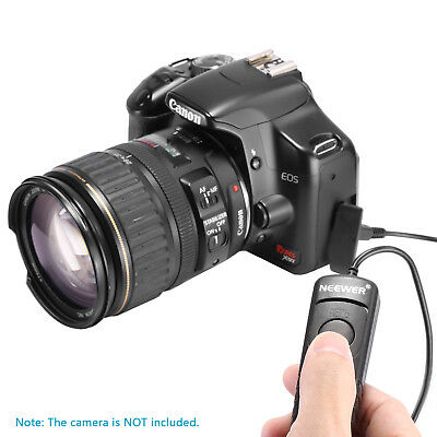Neewer Camera Remote Control Switch Shutter Release for Canon EOS 650D 600D 550D