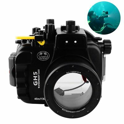 Seafrogs Waterproof Underwater 40m 130ft Diving Housing Case For Panasonic GH5