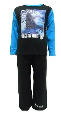 Doctor Who Daleks Boys Exterminate Pyjamas 5-6 Years (116cm)