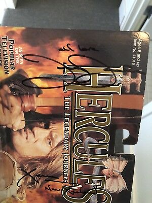 Lucy Lawless Xena Autograph Action Figure New Xenaland 1997