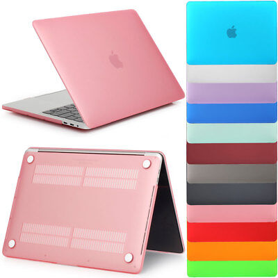 "Rubberized Hard Laptop Case Shell For Apple MacBook Air 11"" Pro 13/15"" Retina 12"