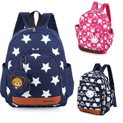 Kids Toddlers Character Backpack Rucksack Childrens Lunch School Bag Nursery AU