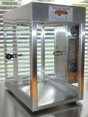 Hot Dog Grill Machine, old fashioned, decorative, missing rotisserie spit/drum
