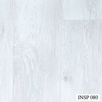 Wood Effect Anti Slip Vinyl Flooring Home Kitchen Bedroom High Quality Lino Roll