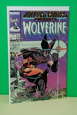 Marvel Comics Presents #1 (1988) - Wolverine app, script by Chris Claremont,NM