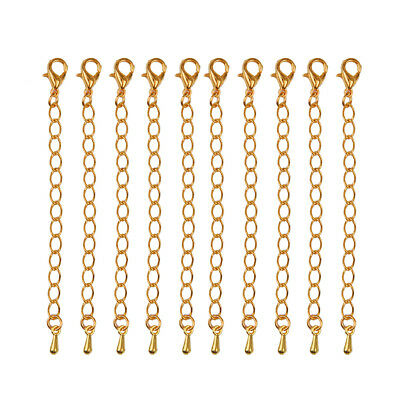 10 Pieces 70 mm Extended Chains Necklace Bracelet DIY Jewelry Accessories