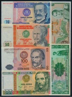 Surinam: 1963 5 Gulden & COLLECTION of 11 different Central & South American