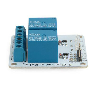 2 Channel 5V Relay Module PCB Relay Module for Arduino PIC ARM DSP AVR Q3E8