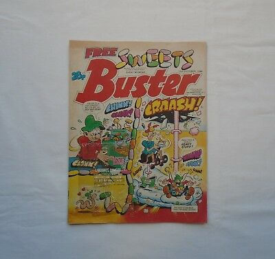 Buster Comic 15th October 1988 -  NO FREE SWEETS