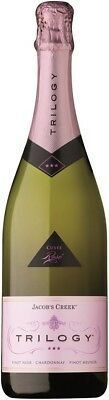 Jacob's Creek Trilogy Sparkling Rose NV (6 x 750mL), AUS