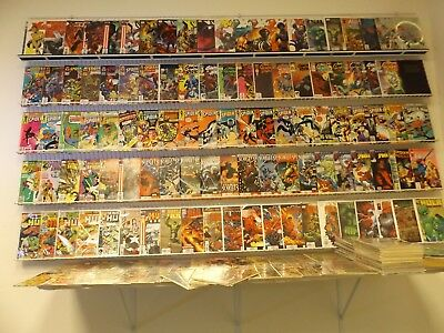 Huge Lot 240+Comics W/X-Men, Hulk, Spidey, Fantastic Four+ Avg VF- Condition!!