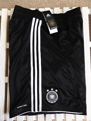 "US XXL (UK 46"" ) ADIDAS GERMANY DFB Home Shorts ORIGINAL Soccer Football"