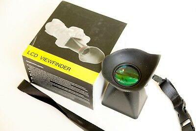 Two 2 x LCD viewfinders in box in UK