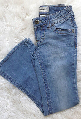 Girl's Mudd Jeans, Flare Leg, Size 8, Cotton Blend, Pre-Owned
