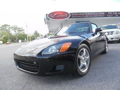 S2000 -- 2001 Honda S2000, Black with 27,538 Miles available now!