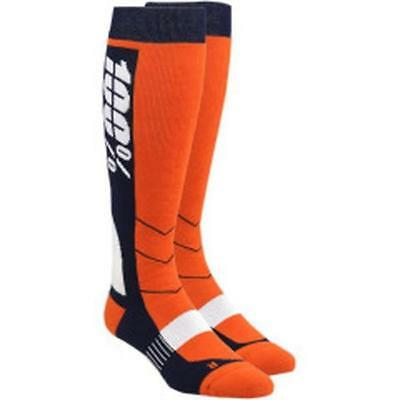 100% HI SIDE Motocross MTB Socken 2018 - orange Motocross Enduro MX Cross