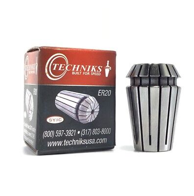 "Techniks ER20 1/4"" High Precision Collet"