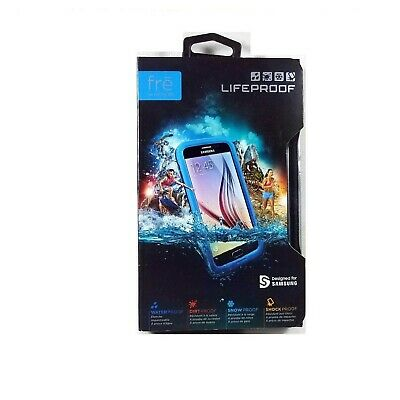 Lifeproof Case For Samsung Galaxy S6 Fre Shock Waterproof Genuine Blue 77-51585