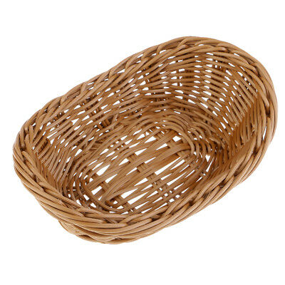 Yuanbao Bread Rattan Basket Creative Bread Basket Plastic Storage Basket