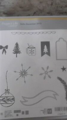Stampin Up Project Life Hello December 2015 RAR
