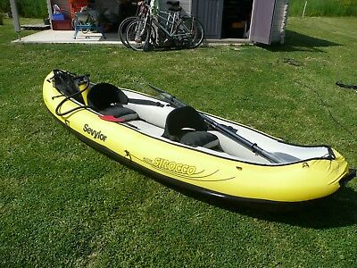 Kayak Gonflable 2 Personnes Sevylor - Sirocco Kcc 335