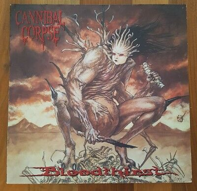 "CANNIBAL CORPSE - Bloodthirst 12""Vinyl 1st.Press Blade Germany 1999"