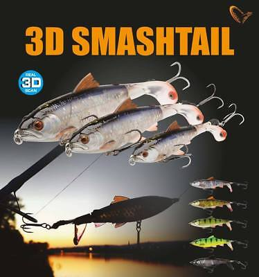 SAVAGE GEAR 3D Smash Tail Minnow 100 135 170mm Smashtail Topwater Bait