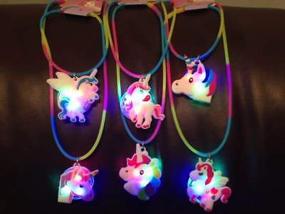 Toys For Girls 5 6 7 8 9 10 11 12 Year Old Unicorn Necklace Led