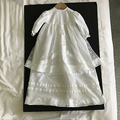 Antique /vintage French Lace Christening Dress .Never Used.