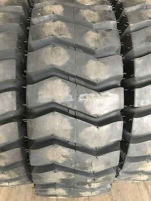 2-NEW-17-5-25-20PLY-RATING-E3-L3-Earthmover-Loader-Tires-17-5X25-17525  2-NEW-1