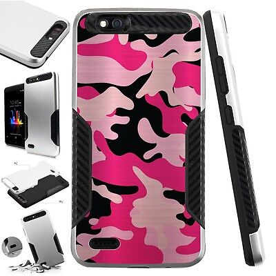 KARBONSLIM CASE FOR ZTE ZFive G LTE/Tempo X/Fanfare 3/Avid 4 Phone Cover A1