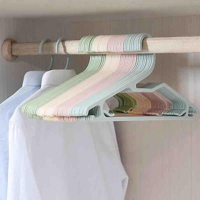 20pcs/lot 40cm Plastic Hangers For Clothes Multifunctional Hanger Clothes Rack